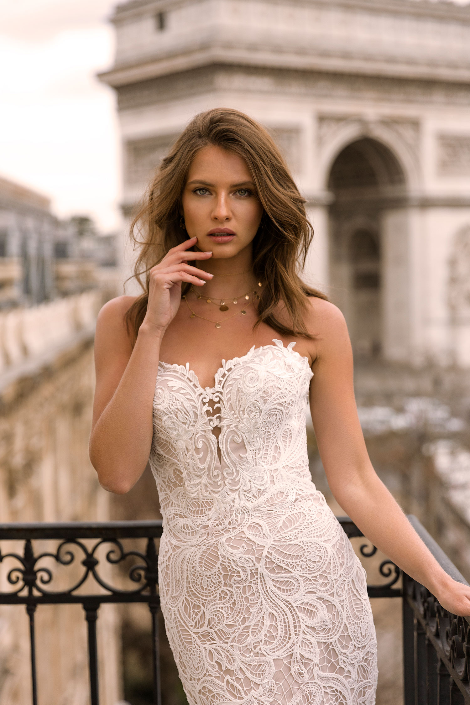 Ivy Ml7419 Full Heavy Lace Gown With Sweetheart Neckline Zip Up Back And Detachable Off Shoulder Lace Straps Wedding Dress Madi Lane Bridal5